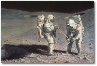 Moonrock-Earthbound by Alan Bean (Apollo)