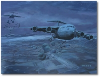 Moving the Herd by James Dietz (C-17)