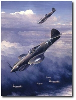 Next Time Get 'Em All by William S. Phillips (P-40)