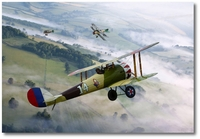 Nieuport 28 - 94th Aero Squadron by Ron Cole