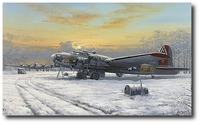Nine-O-Nine - No Turning Back by Philip West (B-17 Flying Fortress)