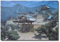 No Safe Haven by Larry Selman (UH-60 Blackhawk)