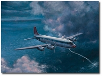 Northwest Flight 2501 by Bryan David Snuffer (Douglas DC-4)