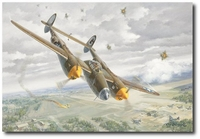 "One for ""My Dad"" by Roy Grinnell (P-38 Lightning)"