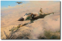 One MiG Down by Robert Taylor (Mirage)
