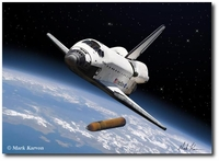 Orbit Achieved by Mark Karvon (Space Shuttle)