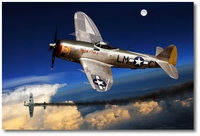 P-47D Thunderbolt by Ron Cole