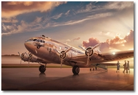 Pan Am Boeing 307 - Clipper Comet by Ron Cole