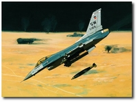 Payback Time in the KTO by K. Price Randel (F-16 Falcon)