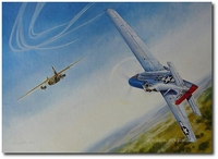 Perfida by Troy White (P-51 Mustang)