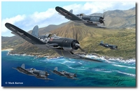 Pirates of the Pacific by Mark Karvon (F4U Corsair)