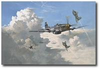 Playing the Last Ace by Heinz Krebs (P-51 Mustang, Me163 Komet)