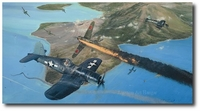 Rabaul - Fly For Your Life by Robert Taylor (F4U Corsair)