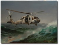 Rescue From Above by Robert D. Fiacco (MH-60S)