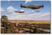 Return from the Fray by Richard Taylor (Spitfire)