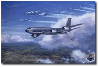 Return Of The Bloody 100th by Ronald Wong (KC-135 Stratotanker)