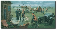Return to the Bump / Biggin Hill, Summer 1940 by Gil Cohen (Hurricane)