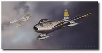 Sabre! by Jack Fellows (F-86)