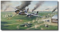 Scat Attack by Jim Laurier (P-38)