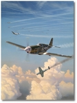 Short Fuse Sallee by Jim Laurier (P-51 Mustang)