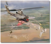Snake Attack by Jim Laurier (AH-1 Cobra)