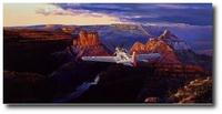 Solitude over the Grandure by Rick Herter (P-51)