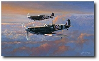 Spitfire Patrol by Philip West