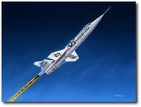 Stairway to Heaven by Mike Machat (F-104 Starfighter)