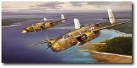 Strafer - Mission to Kavieng by Jack Fellows (B-25 Mitchell)