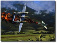 Struck by Lightning by Jack Fellows (P-38)