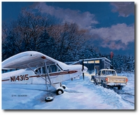 Super Cub's Day Off by Burt Mader (PA-18)