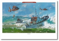 Surf Operations by Bryan David Snuffer (MH-65 Dolphin)