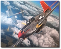 Tenacious Warrior by Jason Breidenbach (P-51 - Tuskegee)