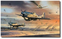 The Battle for New Years Day by Nicolas Trudgian (P-51 Mustang)