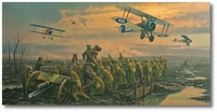 The Big Push by Anthony Saunders (Sopwith Camel)