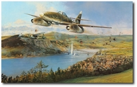 The Bridge at Remagen by Robert Taylor (Me262)