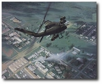 The Defense of An Loc by Dru Blair (AH-1 Cobra)
