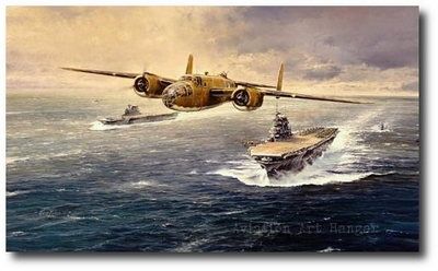 The Doolittle Tokyo Raiders by Robert Taylor (Framed Secondary)