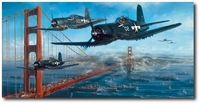 The Homecoming by John Shaw (F4U Corsair)