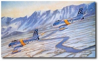 The Hunters by Troy White (F-86 Sabre)
