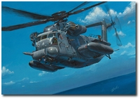 The Infiltrator by Bryan David Snuffer (MH-53M Pave Low)