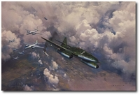 The Last Combat by Frank Wootton (Me262)