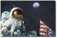 The Last Man on the Moon by Alan Bean (Apollo)