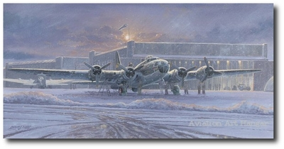 The Memphis Belle by Philip West (B-17 Flying Fortress)