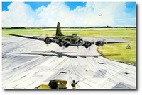 The Memphis Belle's Historic Homecoming by Marc Stewart (B-17)