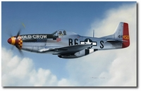 The Old Crow of Leiston by Darrell White (P-51 Mustang)