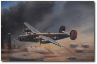 The Ploesti Raid by Robert D. Fiacco (B-24D Liberator)