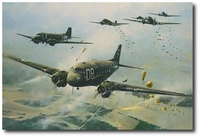 The Road to the Rhine by Robert Taylor (C-47 Dakota)