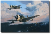 The Wolfpack - Outward Bound to Bremen by Robert Taylor (P-47 Thunderbolt)
