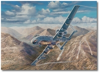 Thunder Over Kunar by Rick Herter (A-10)
